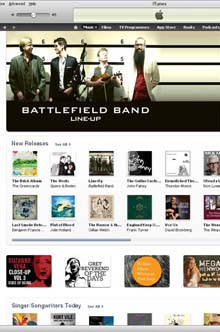 iTunes Battlefield Band
